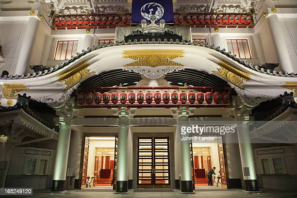 Tokyo's famous Kabukiza Theater first opened in 1889 and has been closed since 2010 for renovations Kabukiza's reconstruction was due to concerns...
