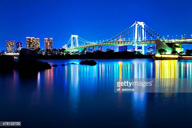 Tokyo`s Rainbow Bridge, Japan