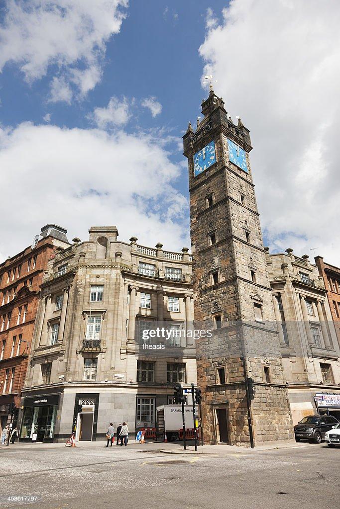 Tolbooth Steeple, Glasgow : Stock Photo