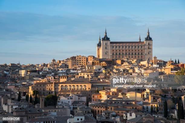 Toledo at Sunset, Spain.