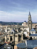 Toledo Cathedral (Castile La Mancha, Spain) It is one of the six bigger temples of the Christendom and a magnificent sample of the Gothic art.