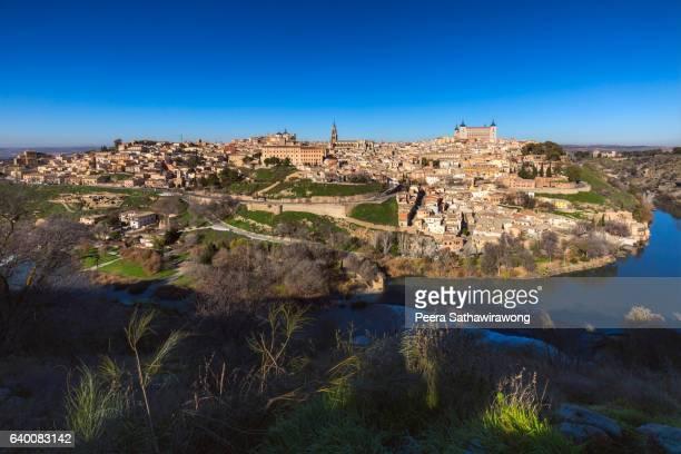 Toledo old town city in Spain