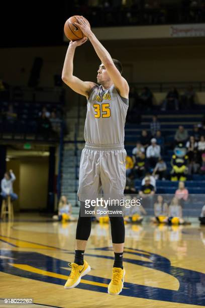 Toledo Rockets forward Nate Navigato shoots a jump shot during the first half of a regular season MidAmerican Conference game between the Ohio...