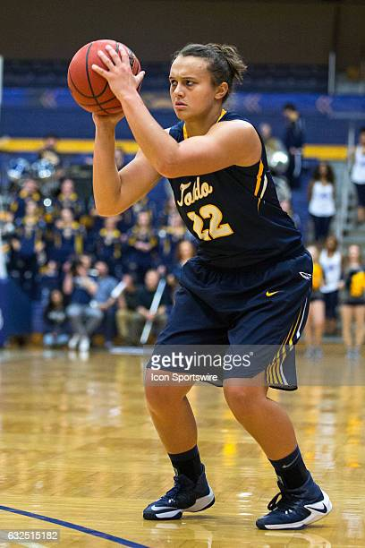 Toledo Rockets G Halee Printz looks to shoot during the first quarter of the NCAA Women's Basketball game between the Toledo Rockets and Kent State...