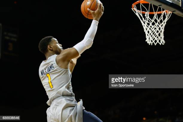 Toledo Rockets guard Jonathan Williams goes in for a layup during a regular season basketball game between the Kent State Golden Flashes and the...