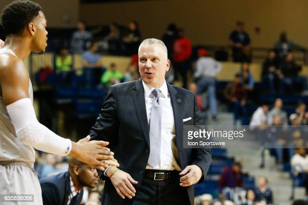 Toledo Rockets head coach Tod Kowalczyk smiles during a regular season basketball game between the Kent State Golden Flashes and the Toledo Rockets...