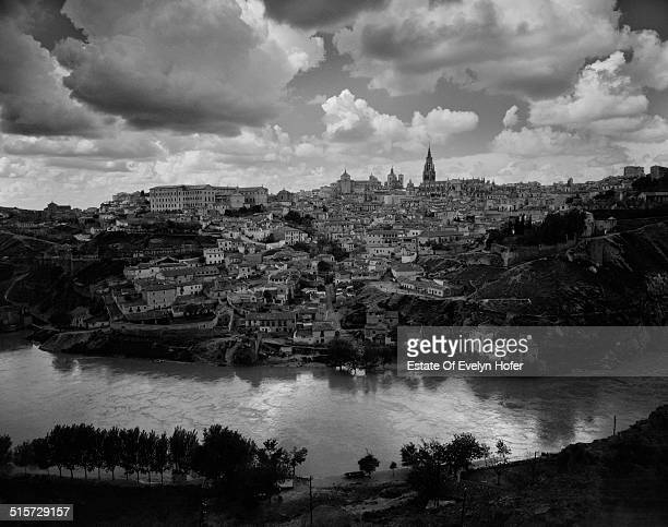 Toledo seen from across the Tagus River Spain 1963