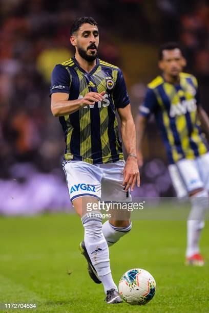 Tolga Cigerci of Fenerbahce SK during the Turkish Spor Toto Super Lig match between Galatasaray SK and Fenerbahce AS at the Turk Telekom Arena on...