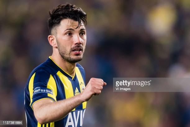 Tolgay Arslan of Fenerbahce SK during the Turkish Spor Toto Super Lig football match between Fenerbahce AS and Galatasaray AS at the Sukru Saracoglu...