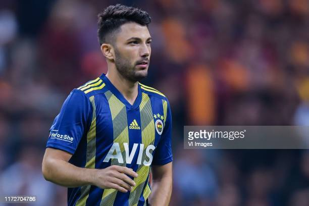Tolgay Arslan of Fenerbahce SK during the Turkish Spor Toto Super Lig match between Galatasaray SK and Fenerbahce AS at the Turk Telekom Arena on...