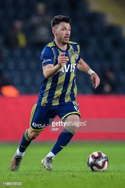 Tolgay Arslan of Fenerbahce SK during the Ziraat Turkiye Kupasi match between Fenerbahce AS and Istikbal Mobilya Kayserispor at the Ulker Stadyumu...