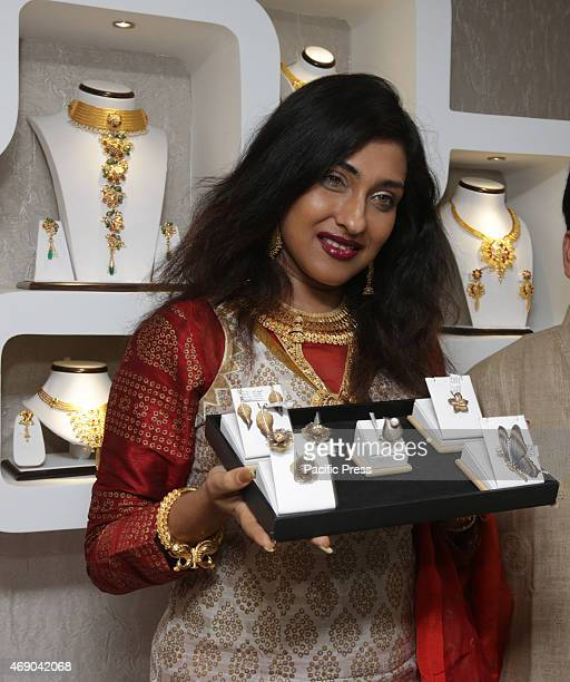 Tollywood Actress Rituparna Sengupta during the Grand Launch of Shyam Sundar Co Jewellers' Largest Showroom at Barasat on Wednesday