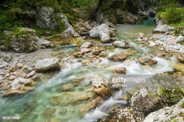 Tolmin Schluchten-Staudamm