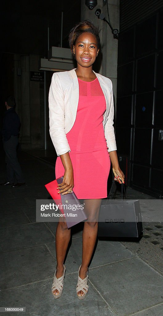 Tolula Adeyemi at The Libertine on May 8, 2013 in London, England.