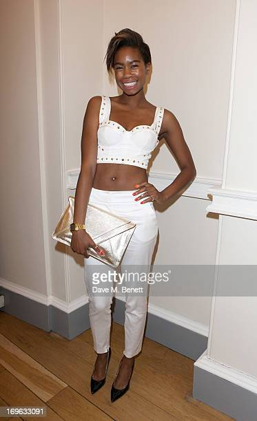 Tolula Adeyemi attends the Esquire Summer Party in association with Stella Artois at Somerset House on May 29 2013 in London England