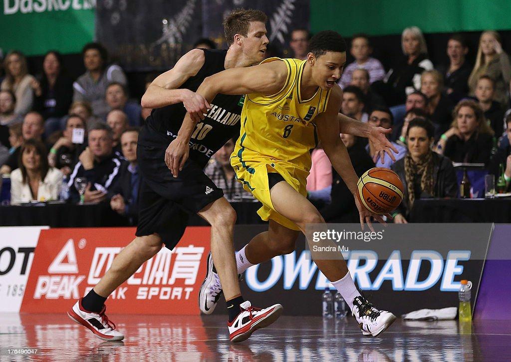 New Zealand v Australia - Men's FIBA Oceania Championship : News Photo