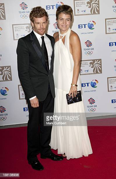 Tom Aikens And Amber Nuttall At The British Olympic Ball At The Grosvenor House Hotel Central London