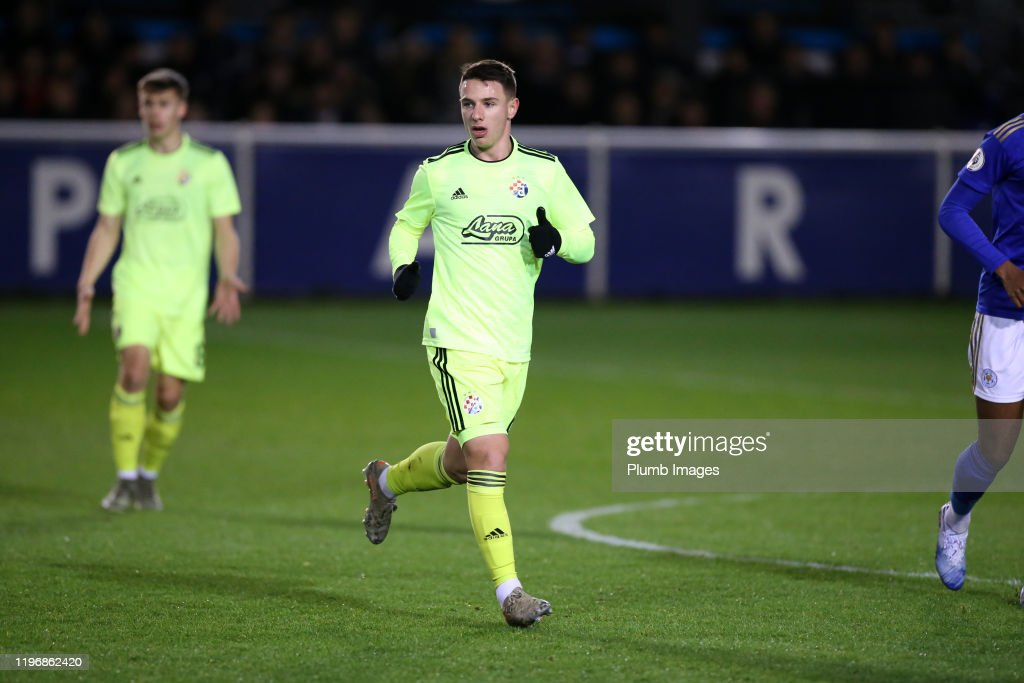 Tom Alen Tolic Of Dinamo Zagreb During The Premier League News Photo Getty Images