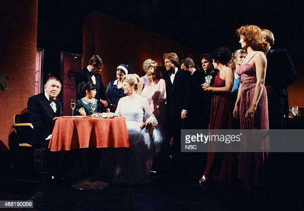 LIVES 'Tom Alice Horton 50th Wedding Anniversary' Pictured Macdonald Carey as Tom Horton Natasha Ryan as Hope Williams John Lupton as Tom Horton Jr...