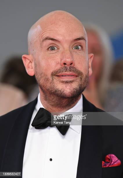 Tom Allen attends the National Television Awards 2021 at The O2 Arena on September 09, 2021 in London, England.