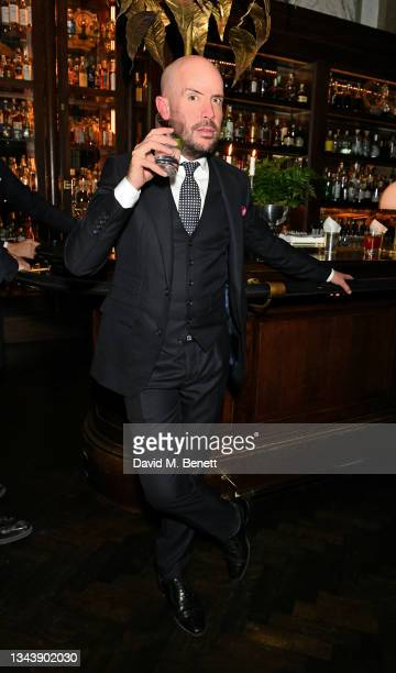 Tom Allen attends the Rolling Stone UK launch at Rosewood London on September 29, 2021 in London, England.