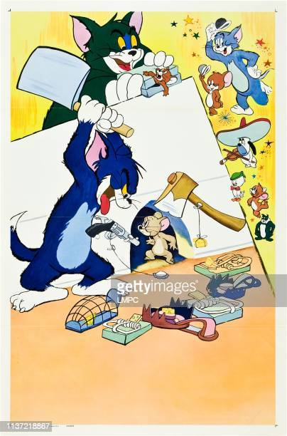 Tom And Jerry On Stock Poster Art poster circa 1950s