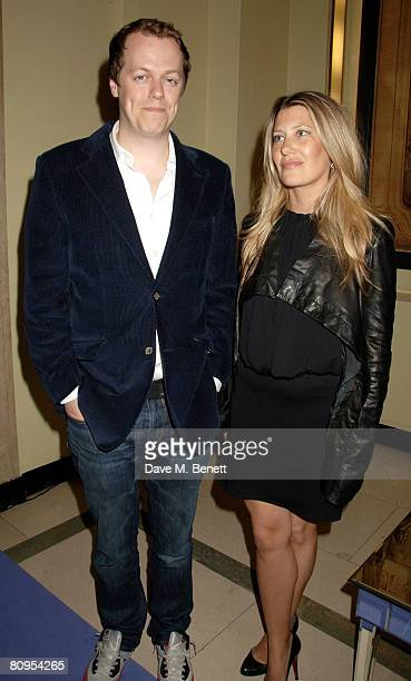 Tom and Sara Parker Bowles attend the 10th Anniversary Party of The Lavender Trust where Nigella Lawson Thandie Newton Justine Picardie Emma Thompson...