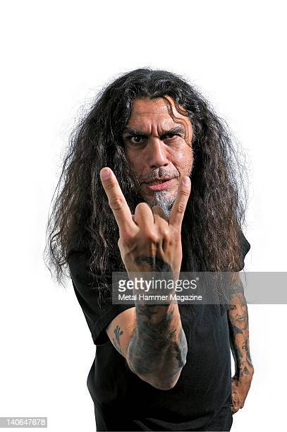 Tom Araya bassist and vocalist of American heavy metal band Slayer During a portrait shoot for Metal Hammer Magazine/Future via Getty Images June 3...