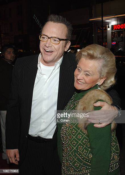 Tom Arnold and Barbara Davis during Wheels Up Films' The Kid I Los Angeles Premiere Red Carpet at The Mann Grauman's Chinese in Los Angeles...