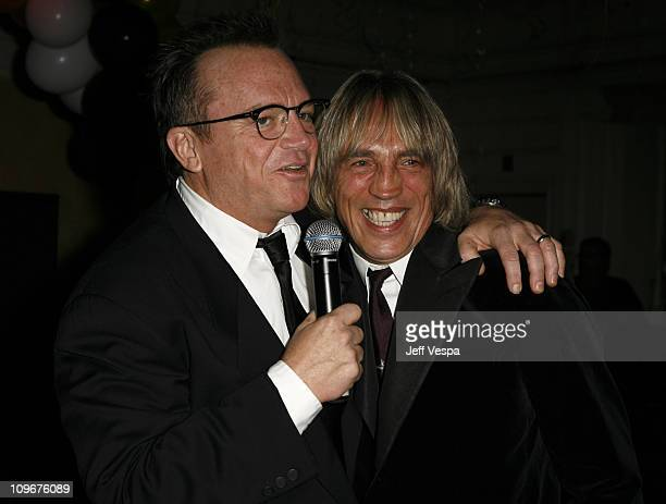 Tom Arnold and Mike Stone during Sharon Stone and Kelly Stone Host the 1st Annual 'Class of Hope Prom 2007' Charity Benefit Red Carpet and Inside at...