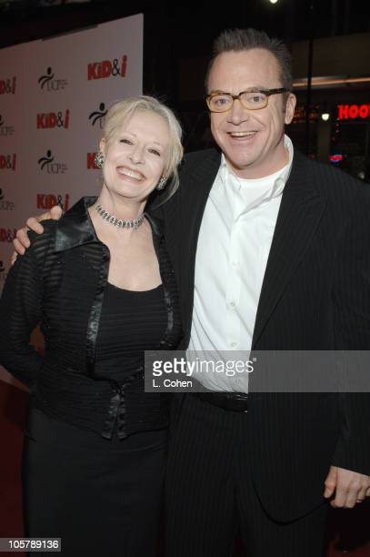 Tom Arnold and Penelope Spheeris director/producer