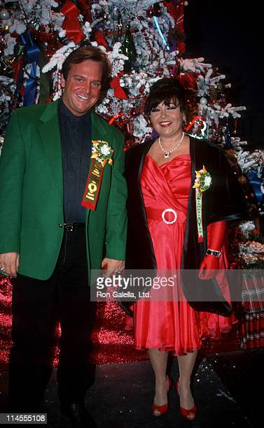Tom Arnold and Roseanne during 61st Annual Hollywood Christmas Parade at KTLA Studios Green Room in Hollywood California United States