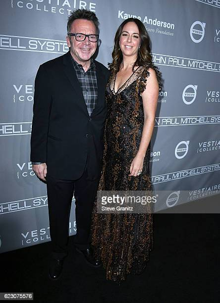 Tom Arnold Ashley Groussman arrives at the 5th Annual Baby2Baby Gala at 3LABS on November 12 2016 in Culver City California