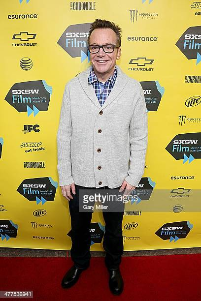 """Tom Arnold walks the red carpet for the premiere of his new film """"Supermensch"""" during the South By Southwest Film Festival on March 9, 2014 in..."""