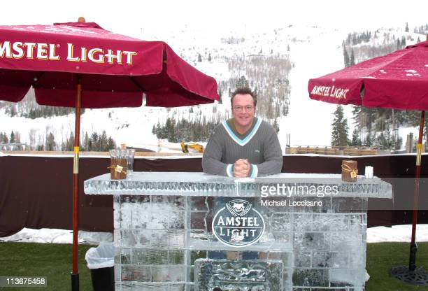 Tom Arnold with Amstel Light at The Ice Lounge presented by The North Face Lexus and St Regis*Exclusive*