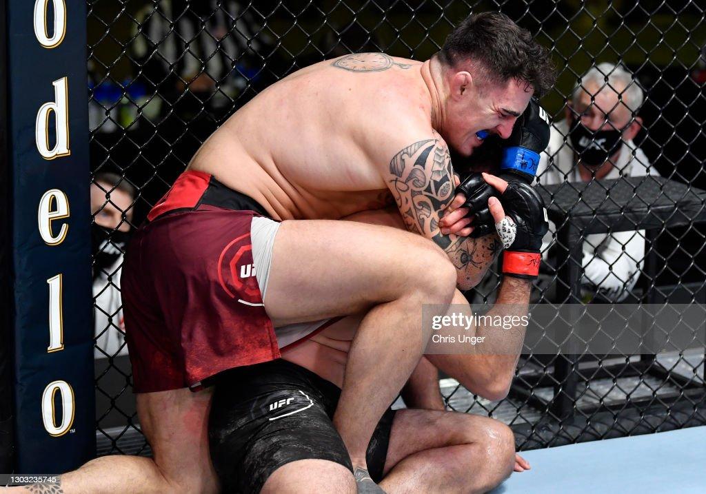 UFC Fight Night: Arlovski v Aspinall : News Photo