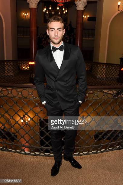 Tom Austen attends The 64th Evening Standard Theatre Awards at the Theatre Royal Drury Lane on November 18 2018 in London England