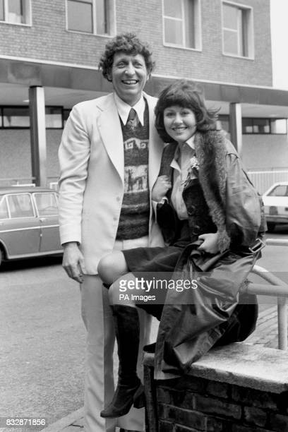 Tom Baker is to play Dr Who in the TV series in the 1975 season succeeding Jon Pertwee who has acted the part since January 1970 He is with Elisabeth...