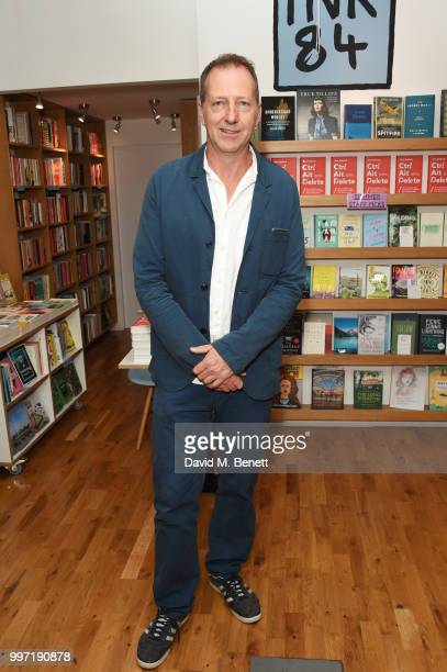 Tom Baldwin attends the launch of his new book 'Ctrl Alt Delete' at Ink 84 on July 12 2018 in London England