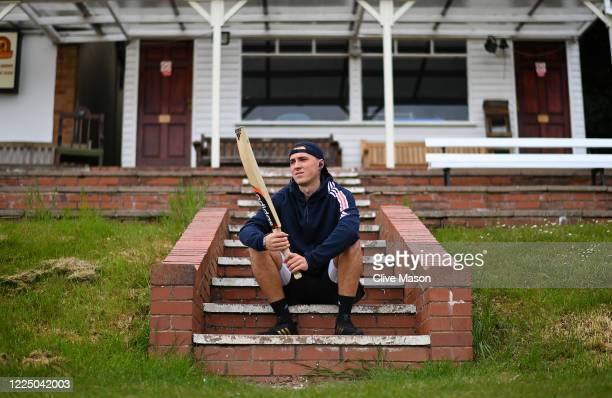 Tom Banton, England and Somerset cricketer in action training at the Barnt Green Cricket Club on May 15, 2020 in Barnt Green, England.