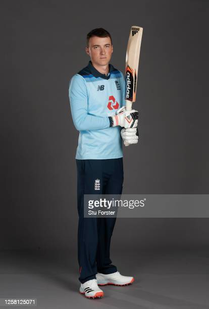 Tom Banton poses for a portrait during the England One Day International Squad Photo call at Ageas Bowl on July 24, 2020 in Southampton, England.