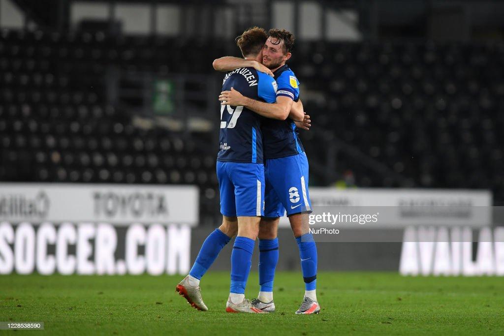 Derby v Preston North End - Carabao Cup : News Photo