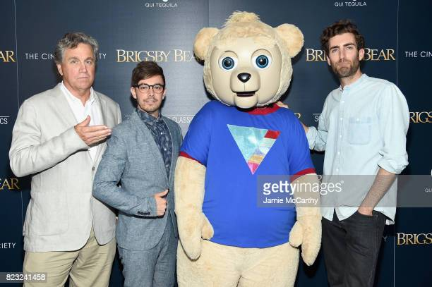 Tom Barnard Jorma Taccone and filmmaker Dave McCary attend the Sony Pictures Classics Screening Of Brigsby Bear at Landmark Sunshine Cinema on July...