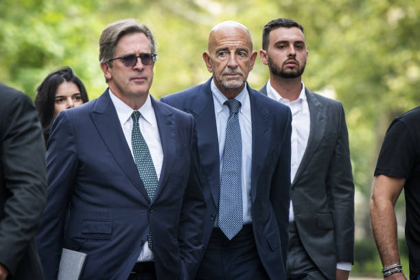 NY: Ex-Trump Ally Tom Barrack And Defendant Matthew Grimes Appear In Criminal Court