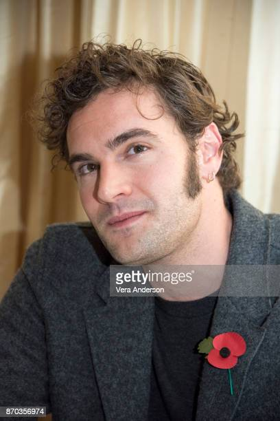 Tom Bateman at the 'Murder on the Orient Express' Press Conference at the Claridges Hotel on November 2 2017 in London England