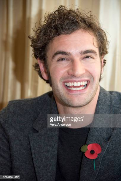 Tom Bateman at the Murder on the Orient Express Press Conference at the Claridges Hotel on November 2 2017 in London England