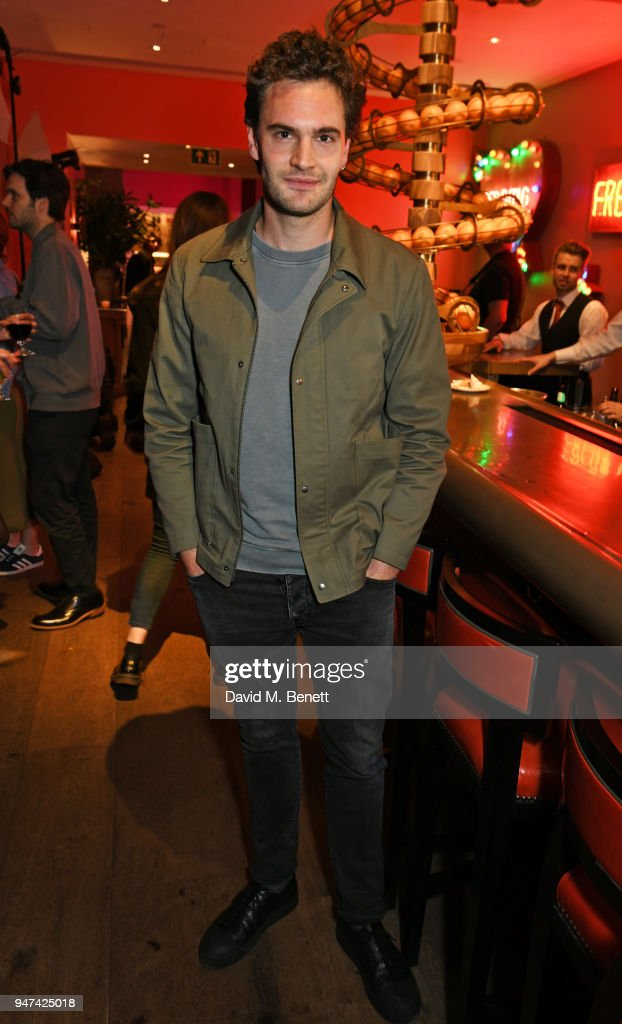 Tom Bateman attends a special preview screening of 'Beast' at the Ham Yard Hotel on April 16, 2018 in London, England.