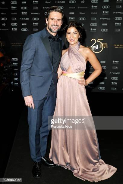 Tom Beck and Chryssanthi Kavazi attends the 25th Opera Gala at Deutsche Oper Berlin on November 3 2018 in Berlin Germany