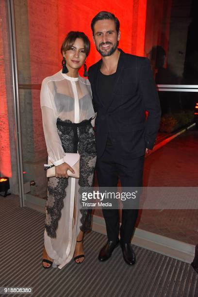 Tom Beck and his girlfriend Chryssanthi Kavazi during the Berlin Opening Night by GALA and UFA Fiction at Das Stue on February 15 2018 in Berlin...