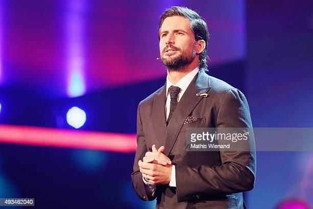 Tom Beck attends the 19th Annual German Comedy Awards at Coloneum on October 20 2015 in Cologne Germany